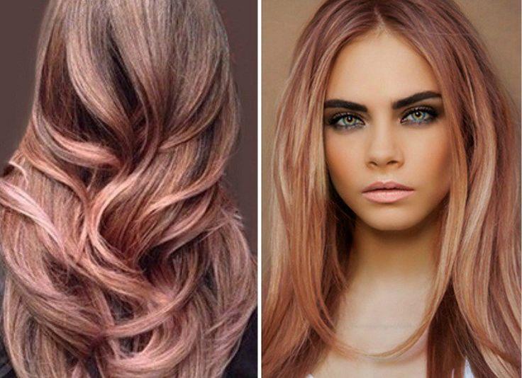 Per tutte le donne stanche dei capelli castano chiaro, semplicemente biondi o cenere, il rose gold è il colore perfetto per osare e farsi notare… L'ultimo trend legato ai capelli per la pross…