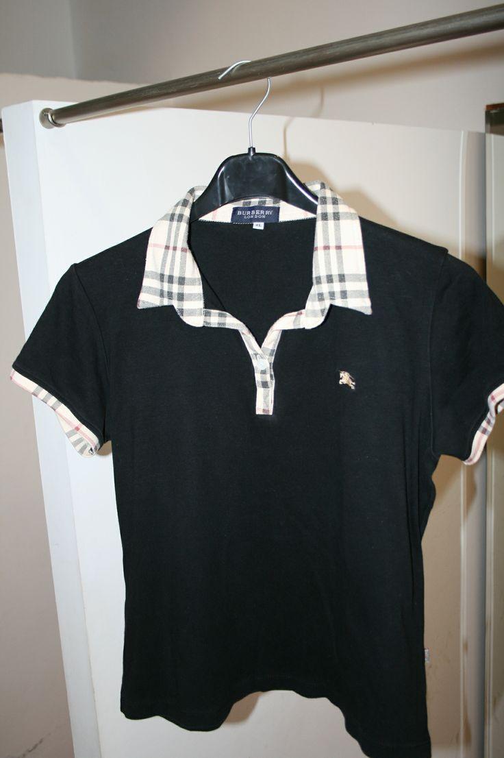 Polo manga corta negro Talla XL