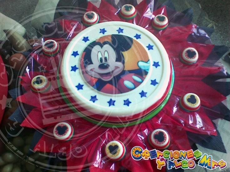 GELATINA DE MICKEY MOUSEMickey Mouse, Gelatina De, Sebastian 1St, 1St Birthday, De Mickey