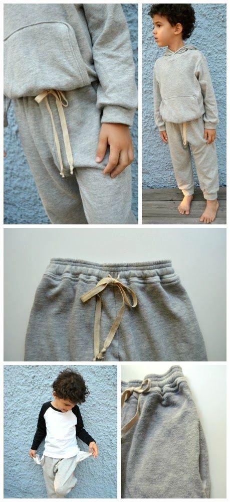 FREE pattern goes up to size 8 Elegance & Elephants: Retro Sweatpants Pattern