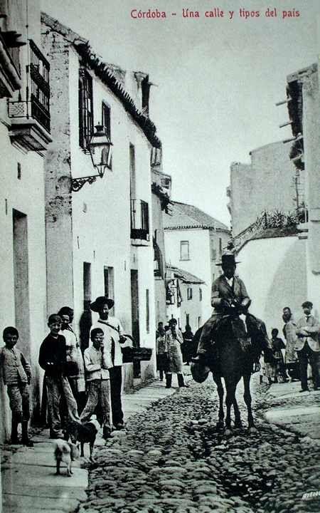 C rdoba una calle y tipos del pa s c rdoba antigua for Azulejeria antigua cordoba