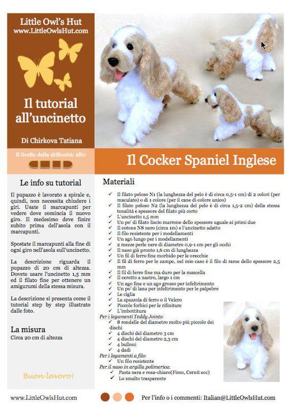 Cagnolino a uncinetto - Tutorial | Uncinetto tutorial, Uncinetto e ... | 806x570