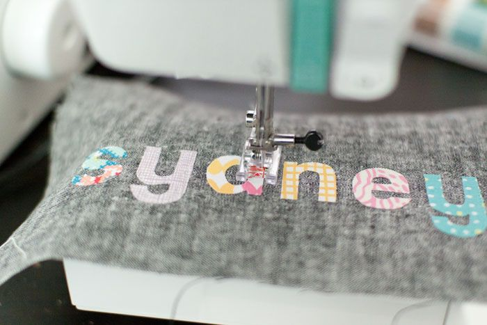 how to create your own appliques using any font on your pc.