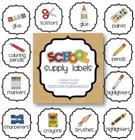 3rd Grade Thoughts: Classroom Supplies: Sharp & Dull Pencils FREEBIE