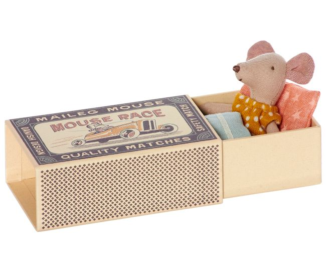 Mysz Młodsza Siostra w pudełku Maileg