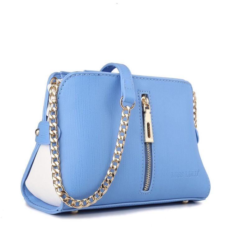 Miss Lulu Cross body tas blauw