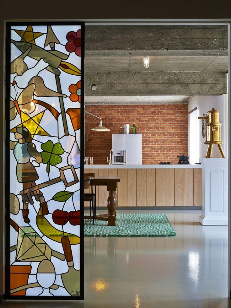 Studio Job Loft - Picture gallery #architecture #interiordesign #kitchen