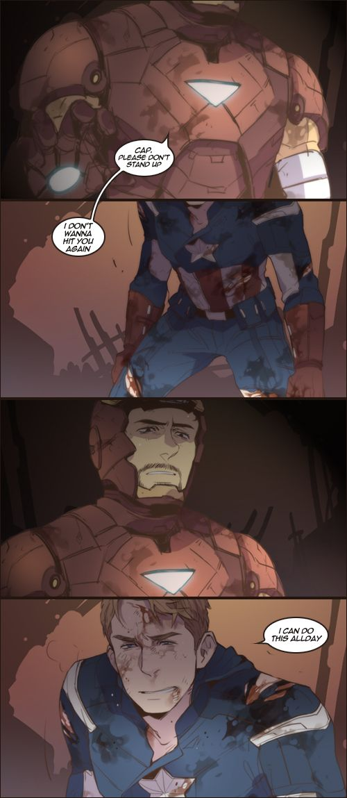CIVIL WAR the Avengers movie ver by cooru58.deviantart.com- feels....so many... <<< No.... Not.... No... Cant... I cant....