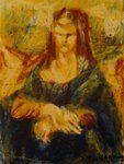 My mine Mona Lisa by ChristinRoussi