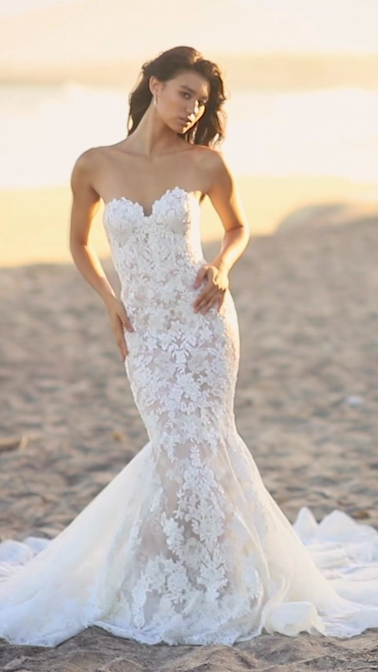 Getting personal with the NOLEN gown.