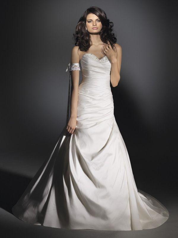 1412 besten Wedding Dresses Bilder auf Pinterest | Hochzeitskleider ...