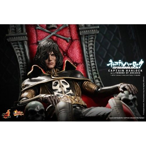 Hot toys Movie Master Piece Space Pirate Captain Harlock 1/6 Scale Captain Harlock with Throne of Arcadia MMS223 Hot toys Movie Master Piece Space Pirate Captain Harlock 1/6 Scale Captain Harlock with Throne of Arcadia MMS223...