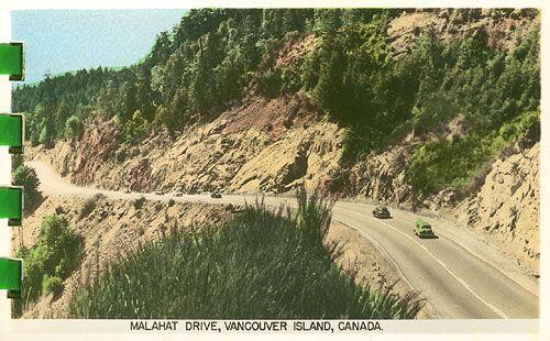 malahat drive vancouver island