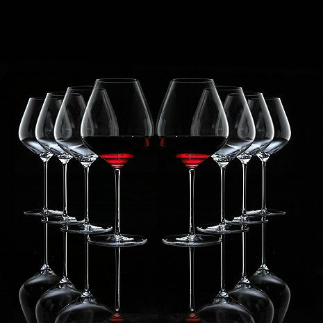 Fusion Air Pinot Noir Wine Glasses Bonus Pack (Set of 6 + 2 Free) - Wine Enthusiast