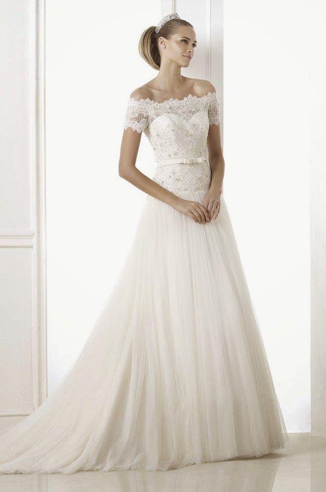 32a97a61672 Pronovias Otilde Wedding Dress 2017 Pronovias t