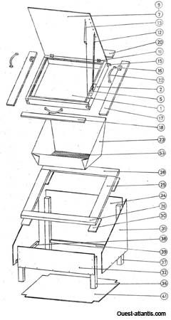 Plans four solaire bois ULOG