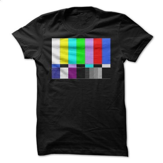 TV Color Bars - #hoodie fashion #cool sweater. SIMILAR ITEMS => https://www.sunfrog.com/Geek-Tech/TV-Color-Bars.html?68278