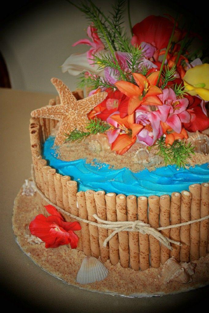 Hawaiian Birthday Party! Hawaiian birthday cakes