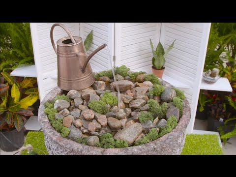 This week Michelle shows us how to turn a watering can into an awesome water feature! #TerraHowTo