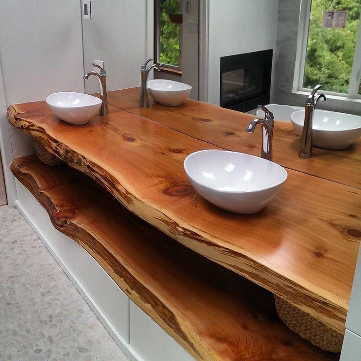 чем обработать деревянную столешницу в ванной