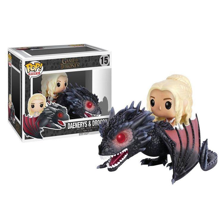 Game of Thrones Daenerys & Drogon POP! Vinyl Figure Set