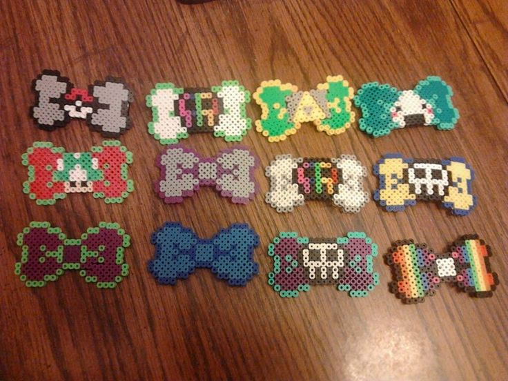 Home-made Hair Clips/Bows by ~PichuLove22 on deviantART