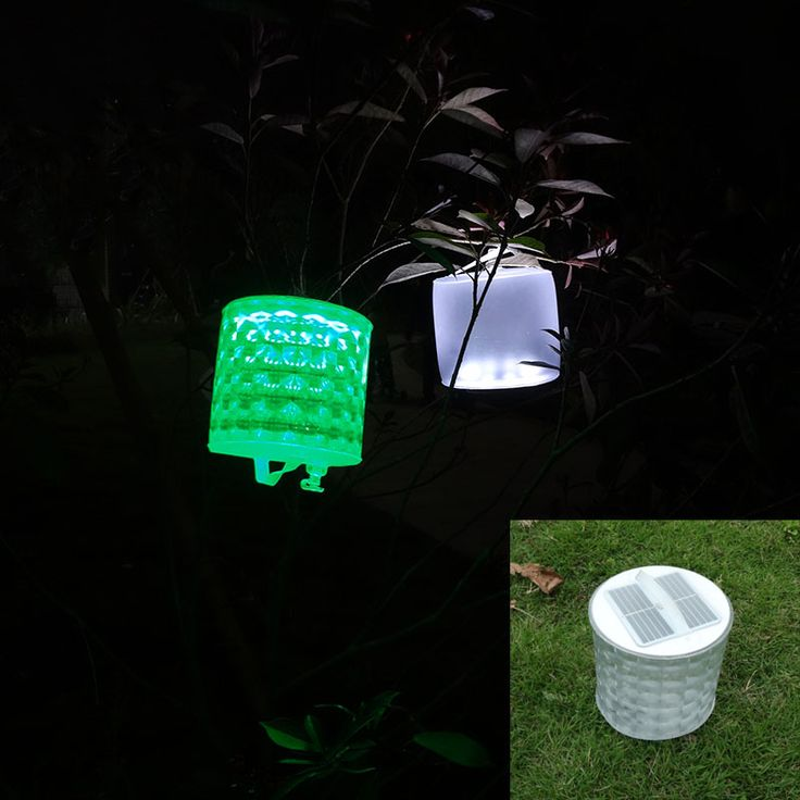 Inflatable Solar Light Rechargeable Waterproof Solar LED Lantern Lights For Camping Hiking Biking Survival Emergency Lamp //Price: $20.24      #followme