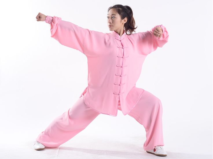 Tai Chi, a martial art project, also sports and fitness project, has a long history in the China. http://www.icnbuys.com/tai-chi-clothing-uniform-woman-summer-pink.html