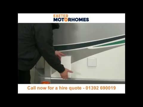 Motorhome hire and campervan rental Exeter - Call 01392 690019