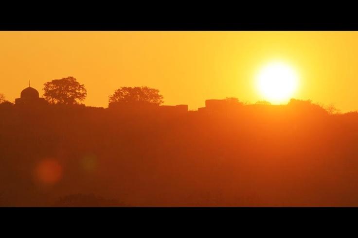 Sunset (Ranthambore fort, Dec 2011)