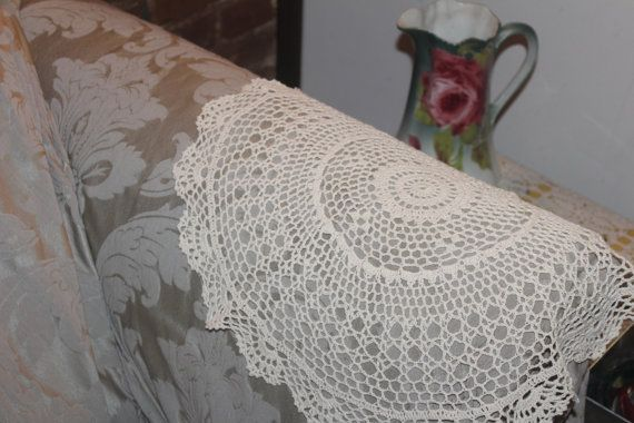 Crochet Patterns For Chair Back Covers Ravelry Bright