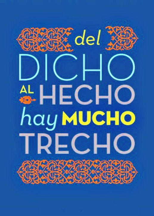 Dicho Mexicano