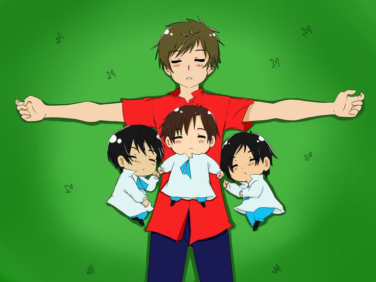 Anime Characters Born On April 7 : Hetalia spain mexico romano and philippines anime is