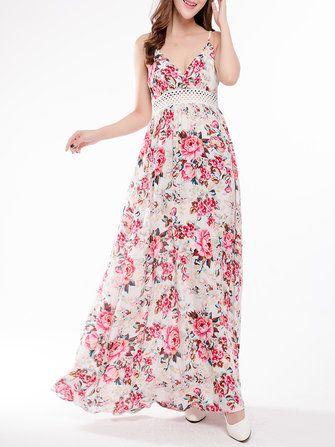 42f30c87c Maxi dresses qatar gracila women short sleeve floral printed baggy maxi  dress – Best Fashion Woman