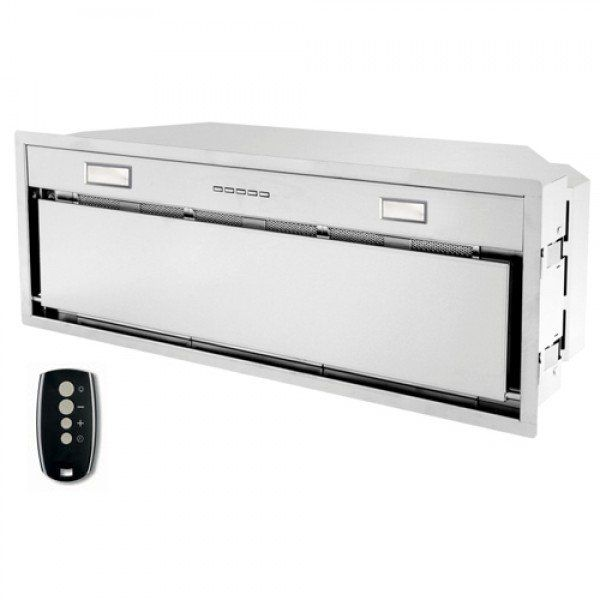 """Complete range hood insert (liner) for cooktops up to 36"""" in width. Includes a powerful yet quiet blower, 2 dishwasher-safe grease filters, wireless remote"""