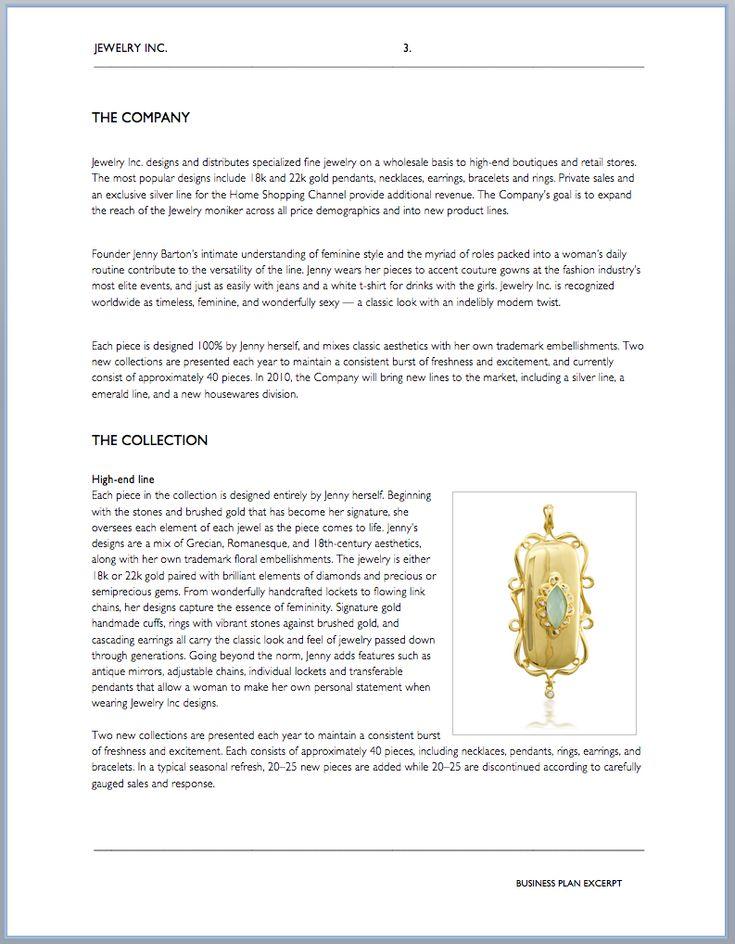 Best  Business Plan Sample Pdf Ideas On   Sample