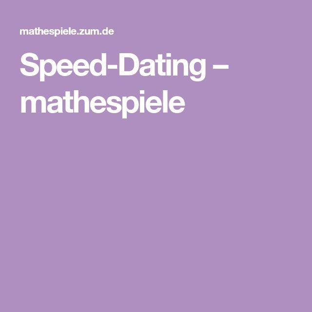Speed-Dating-Übungen Englisch