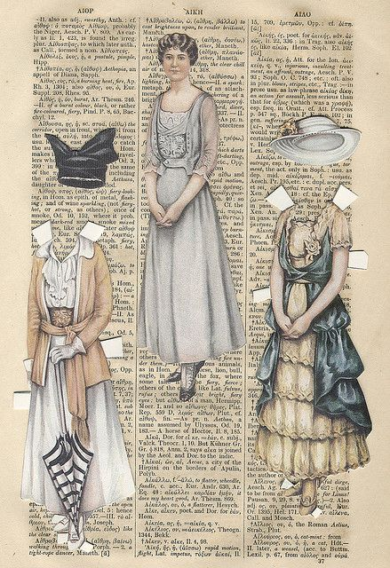 paper dolls I have always loved paper dolls, and do today.