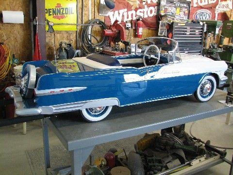 56 pontiac custom pedal car