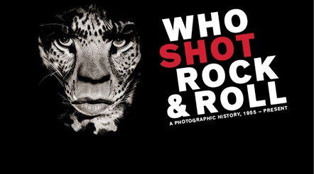 Who Shot Rock and Roll A Photographic History exhibition at Auckland Art Gallery