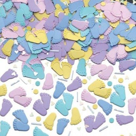 Confetti Små Føtter