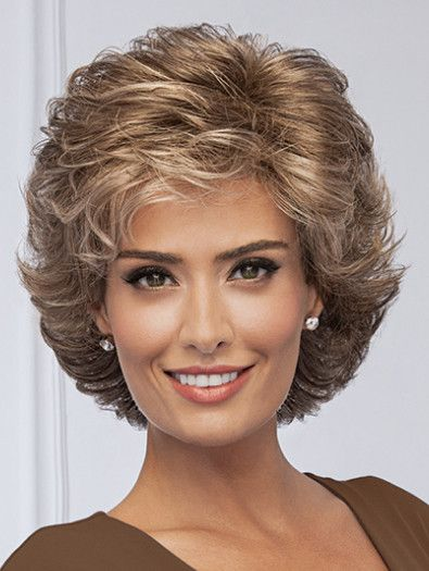 FORTUNE by Eva Gabor on Sale | Buy Online, Wigs Ship Fast | All-over loosely waved layers afford this fashionable, collar-length cut styling ease and easy-to-do, true