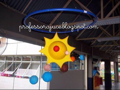 Maquete do Sistema Solar - Educação Infantil