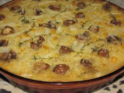 PAPTERT baked in the oven. (Corn Tart)