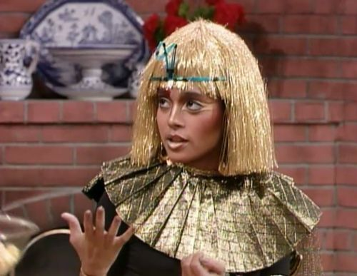 Denise as Cleopatra - The Cosby Show