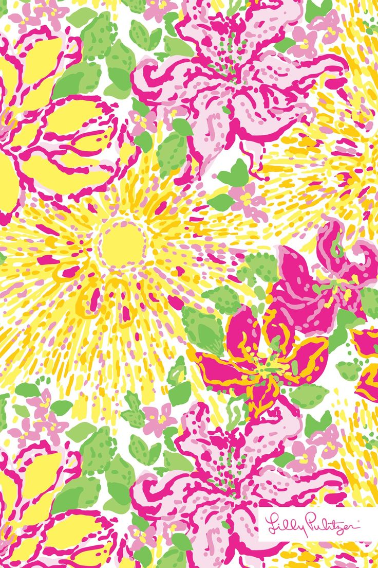 Lilly Pulitzer Seashell Print