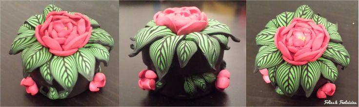 Polymer clay box Folies & Fantaisies