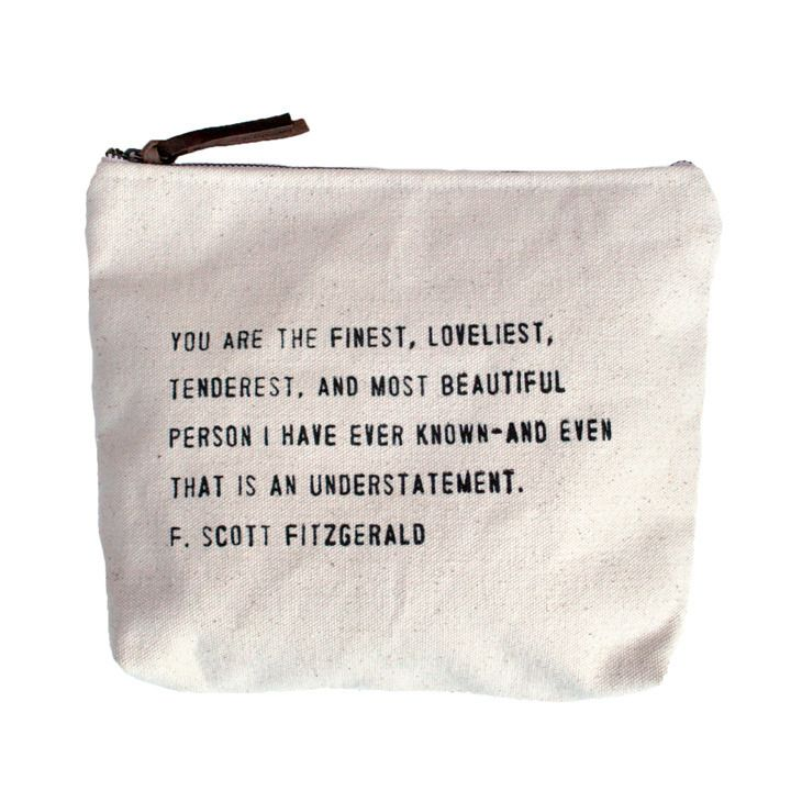 "LoveFeast Shop - ""You Are The Finest"" Canvas Bag, $18.00 (http://www.lovefeastshop.com/you-are-the-finest-canvas-bag/)"