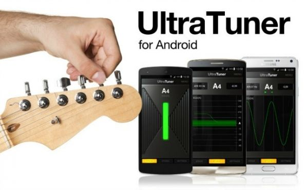 """""""UltraTuner for Android"""": accordatore per Android"""