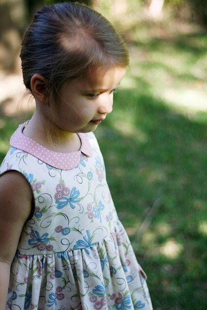 Peter Pan Collar Party Dress for Toddlers Girls Sizes 1,2,3,4,5,6,7,8 Instant Download PDF Sewing Pattern The Madeline Dress by PeachPatterns on Etsy https://www.etsy.com/uk/listing/163537863/peter-pan-collar-party-dress-for